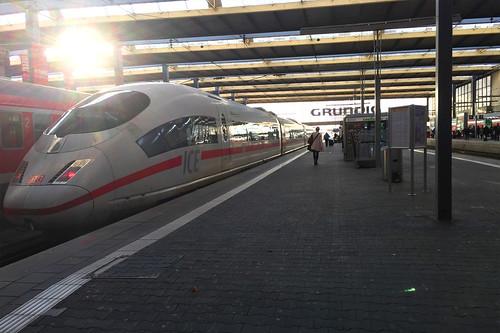 01 - ICE - Hauptbahnhof München