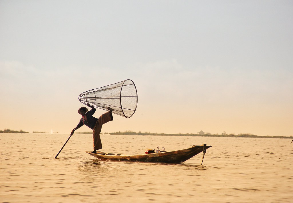 Intha fisherman, Inle Lake