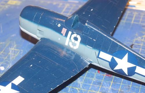 """Grumman F6F-3 Hellcat, """"Vit 19 Vraciu"""", Eduard 1/48 - Sida 3 24319515858_514fb44606"""