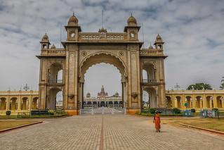Mysore, India: O Palácio das Águias