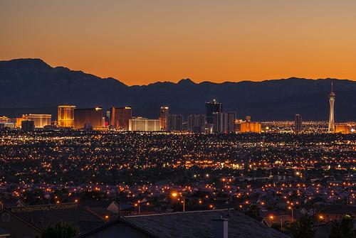 Vegas Valley Sunset