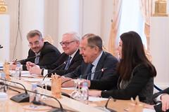 С.В.Лавров и И.Д.Поллак-Бигли | Sergey Lavrov & Yldiz Pollack-Beighle
