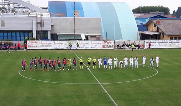 Campodarsego-Virtus Verona 1-3: delirio rossoblu sotto la pioggia