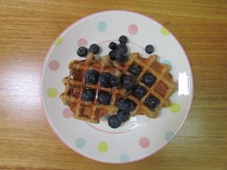 Buckwheat Griddle-Pad Waffles