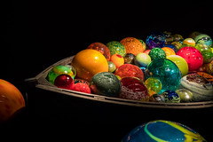 Bow of Chihuly's Float Boat