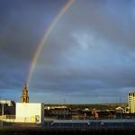 Rainbow over Preston