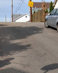 How to say: this hill is too steep for wheelchairs.