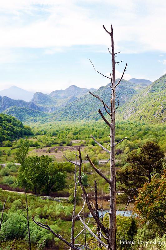 Пейзаж возле крепости Бесац