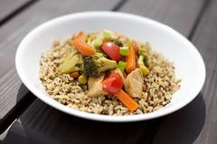 Asian Chicken and Veggie Stir Fry