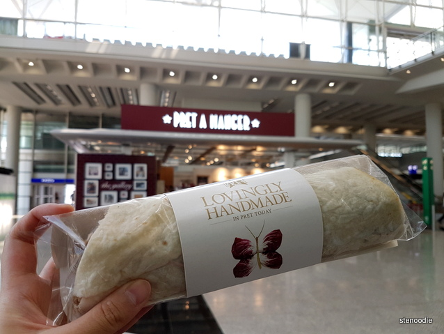 Pret a Manger HK airport