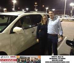 #HappyBirthday to McCoy from Eric Dotson at McKinney Buick GMC!