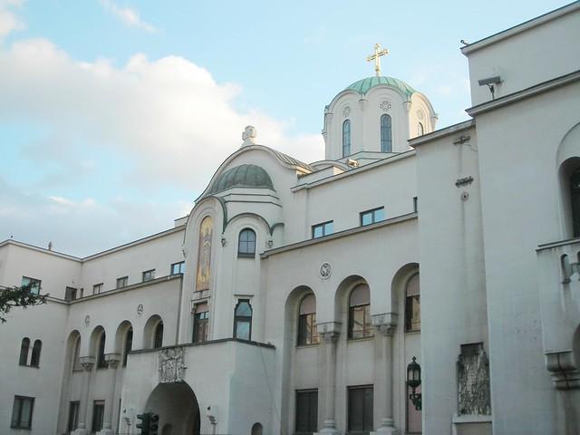 Patriarchate in Belgrade, Serbia, Nikon COOLPIX L3