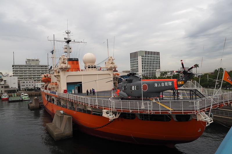 名古屋港南極観測船ふじ外観