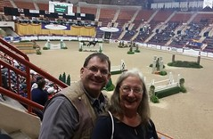 Sunday afternoon at the Pennsylvania National Horse Show at the Farm Show Complex in Harrisburg, Pa. 15Oct2017