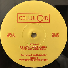 CHOCO THE NEW HARLEM SOUND:MY LITTLE DONKEY EP(LABEL SIDE-B)
