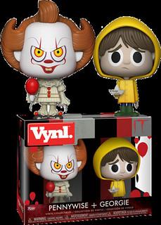 騙人!「牠」才沒有那麼可愛~ FUNKO VYNL. 系列《牠》潘尼懷斯&喬治雙人包 It - Pennywise And Georgie