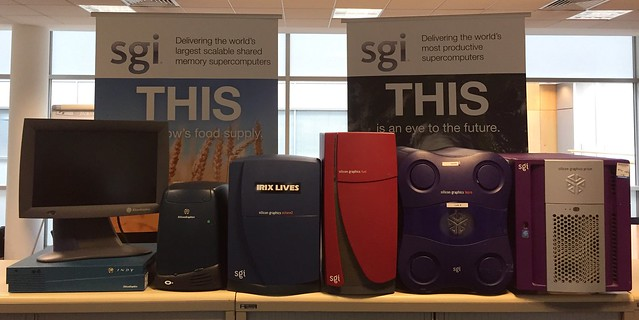 A brief history of SGI workstations, though not complete.