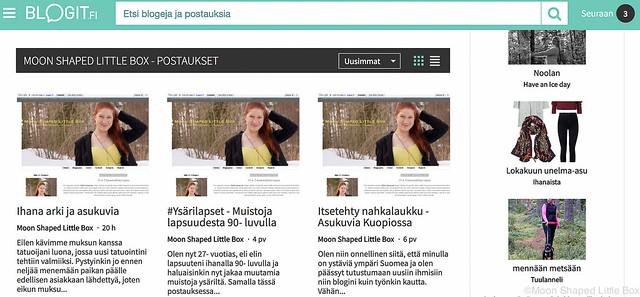 Blogin Seurantatavat blogit.fi Blogin seurantatavat blogien seuraaminen sovellukset kokemuksia paras sivusto blogien seuraamiseen