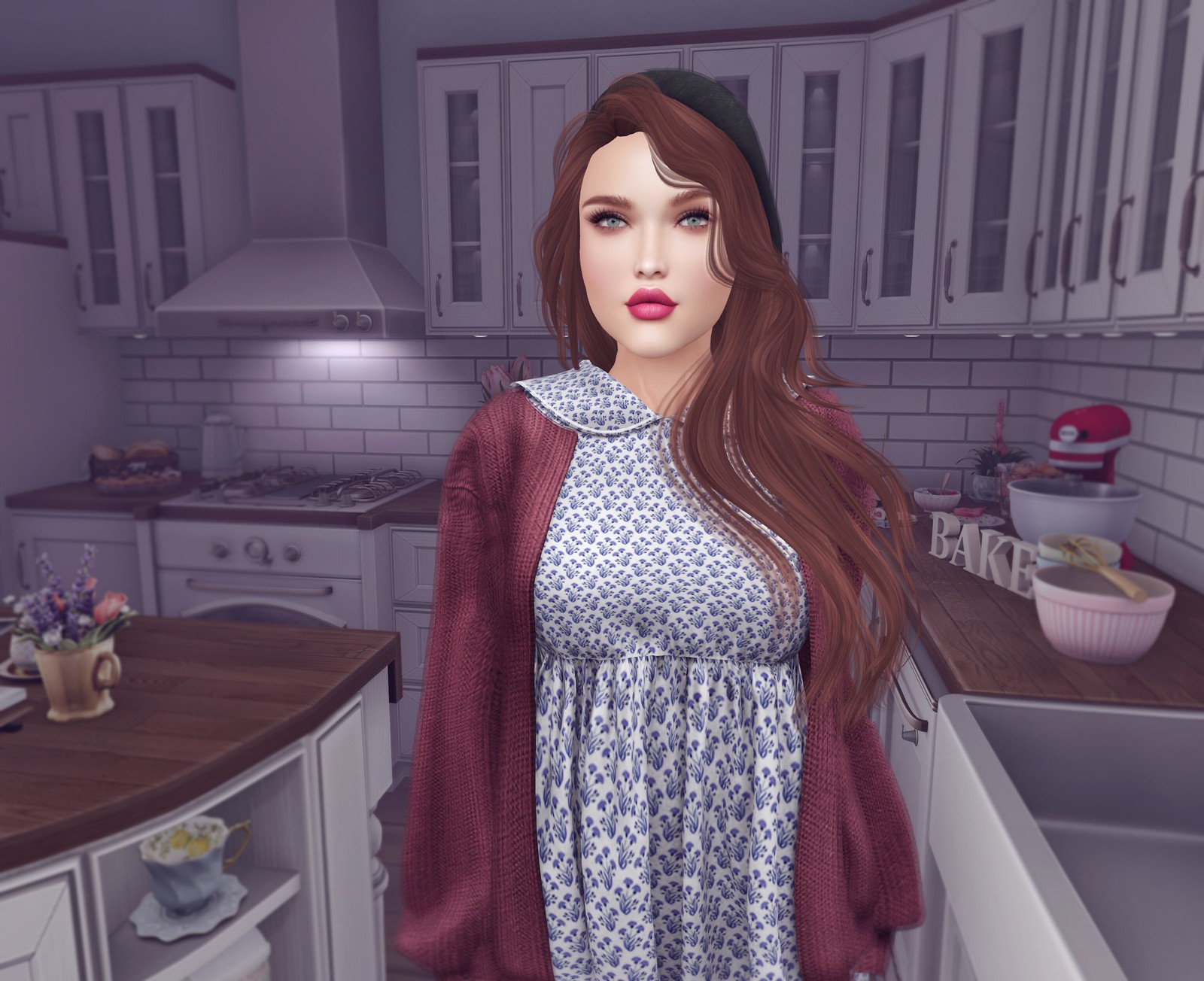 My New Kitchen - JuicyBomb Second Life Fashion Blog