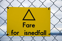 Fare for isnedfall
