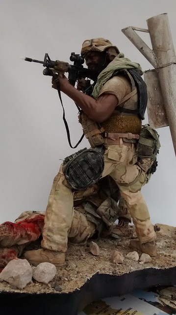 """""""Cover me Bro...!!!"""" US Green Berets in Iraq 2003 37128834253_30ab2c8fae_z"""