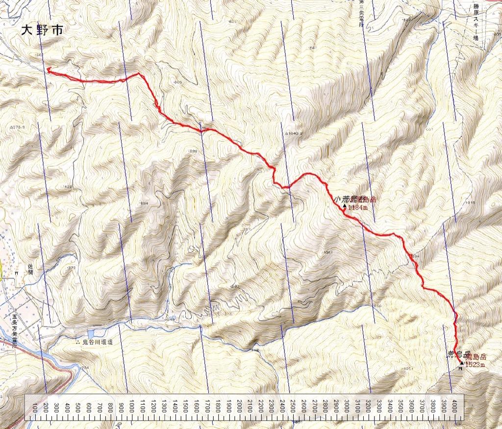 "Mt. ""ARASHIMADAKE"" Map and Data"
