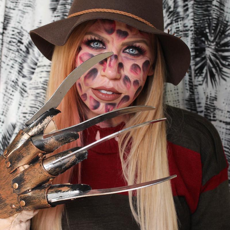 Freddy Krueger Kostüm Halloween Horror