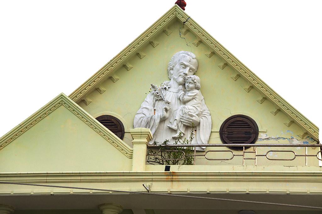 Joseph holding Jesus--Vung Tau