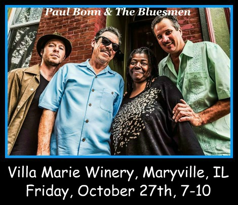 Paul Bonn & The Bluesmen 10-27-17