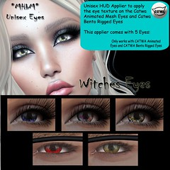 Witches Eye Applier for Catwa Eyes