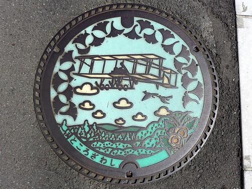 Tokorozawa Saitama, manhole cover (埼玉県所沢市のマンホール)