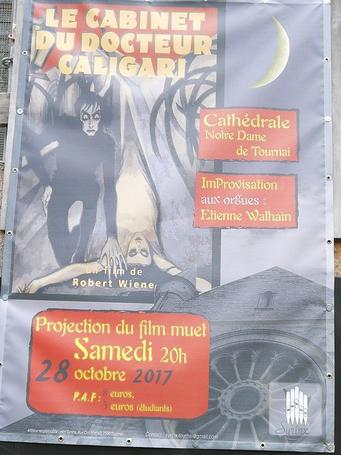 Le Cabinet du Docteur Caligari Cathedral projection