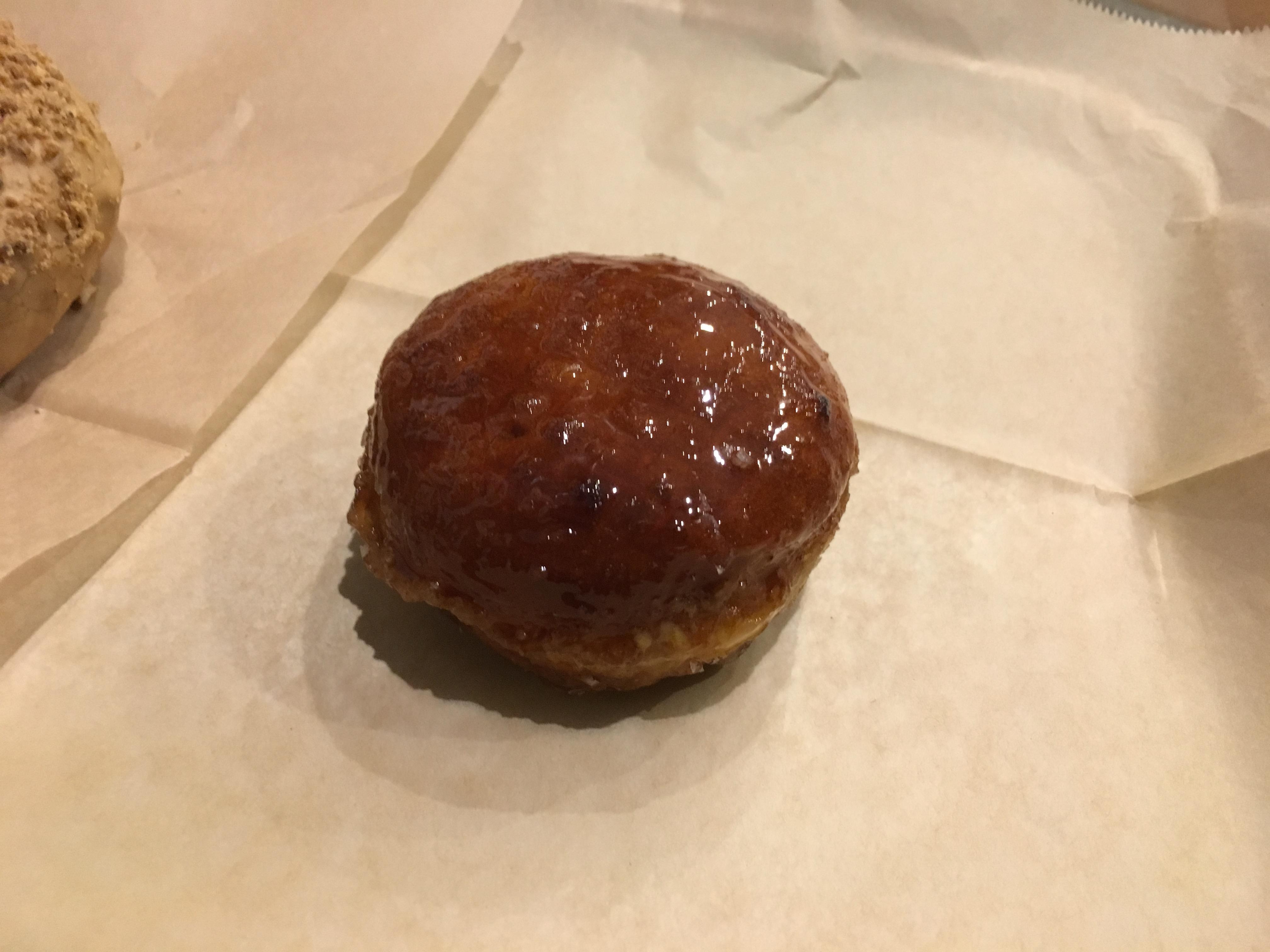 New York Food - Doughnut Plant Creme Brulee doughnut