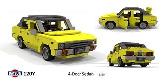 Datsun 120Y 4-Door Sedan (B210 - 1973)