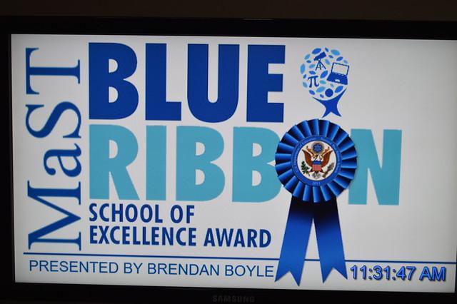 Blue Ribbon Presentation