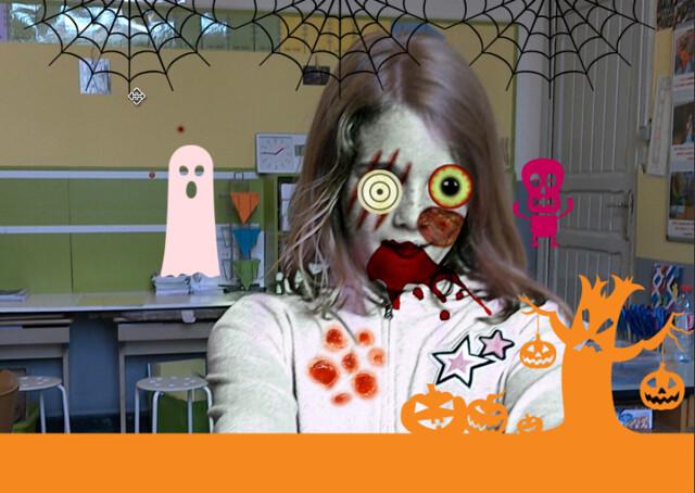 9 oktober ICT Halloween (5de leerjaar)