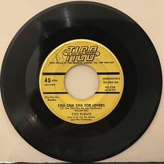 TITO PUENTE:CHA CHA CHA FOR LOVERS(RECORD SIDE-A)