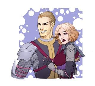 Тереса и Терсеро (рыцарь и колдун)