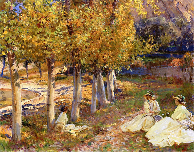 Autumn Leaves by John Singer Sargent, 1913
