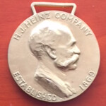 Heinz Faithful Service Gold Medal FOB obverse