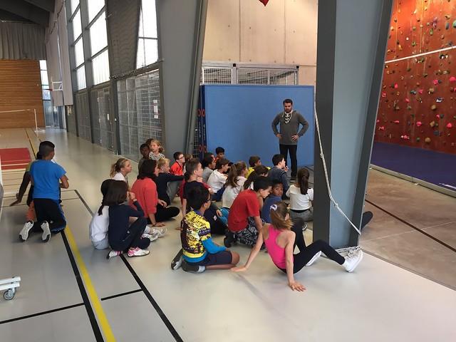 Les élèves du collège Pierre Brossolette ont pratiqué des activités sportives