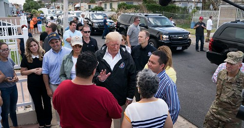 """Trump Brings His Own Storm to Puerto Rico"" by TOM BUERKLE via NYT Business Day https://buff.ly/2xThBT6"