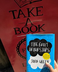 In honor of his new book, this week's #FreeLittleLibrary contribution. #JohnGreen #BookLove