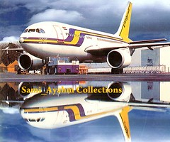 Sudan Airways. Airbus A310-***. F-****. Scanned from Sudanese magazine 1993.