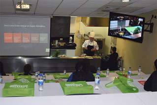 """La Universidad San Ignacio de Loyola, alineada con su pilar de Sostenibilidad, organizó el II Simposio de Gastronomía Sostenible & I Workshop en cocina """"Superfood Perú"""" el pasado 2 y 3 de noviembre en el campus Arq. Fernando Belaunde Terry de La Molina."""