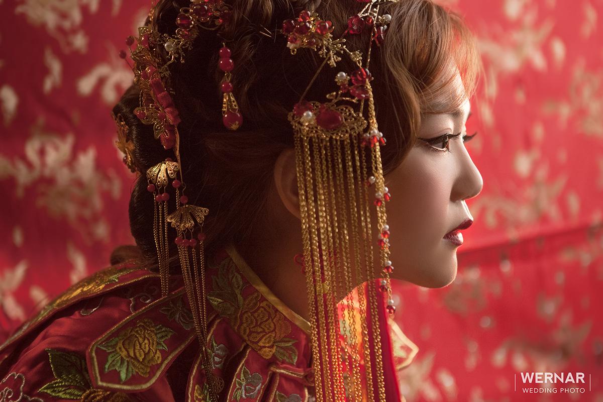 婚紗攝影,婚紗照,台中華納婚紗推薦,中國風,中式新娘