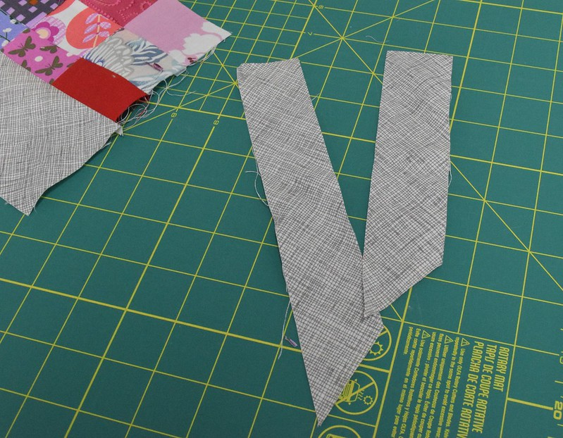 cutting border pieces