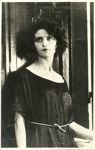 Claretta Sabatelli in Il voto (1921)