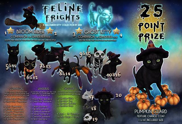 JIAN Feline Frights (The Epiphany Oct.)