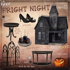 hive // fright night | epiphany oct 2017